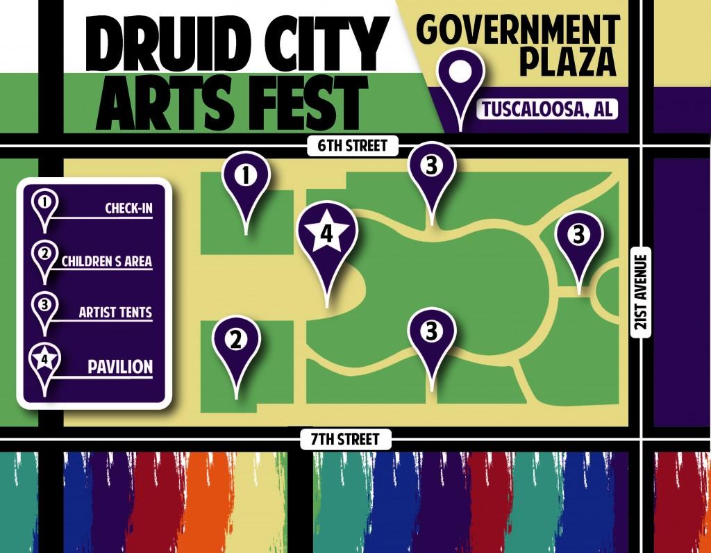 DCAF Map 2013