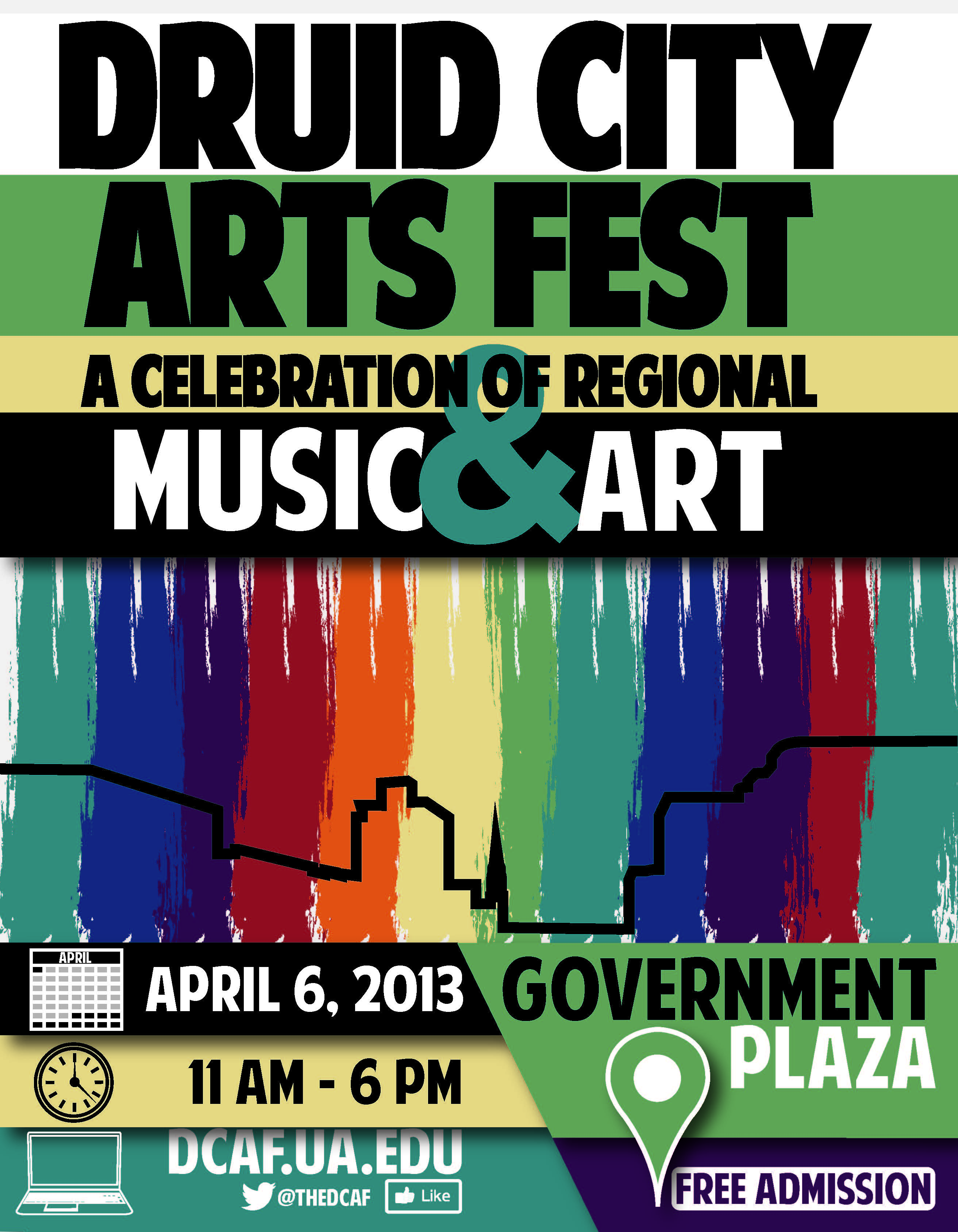 Druid City Arts Festival | March 24, 2012 | Tuscaloosa, AL